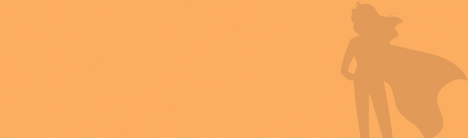 Hintergrundgrafik in orange mit streifen